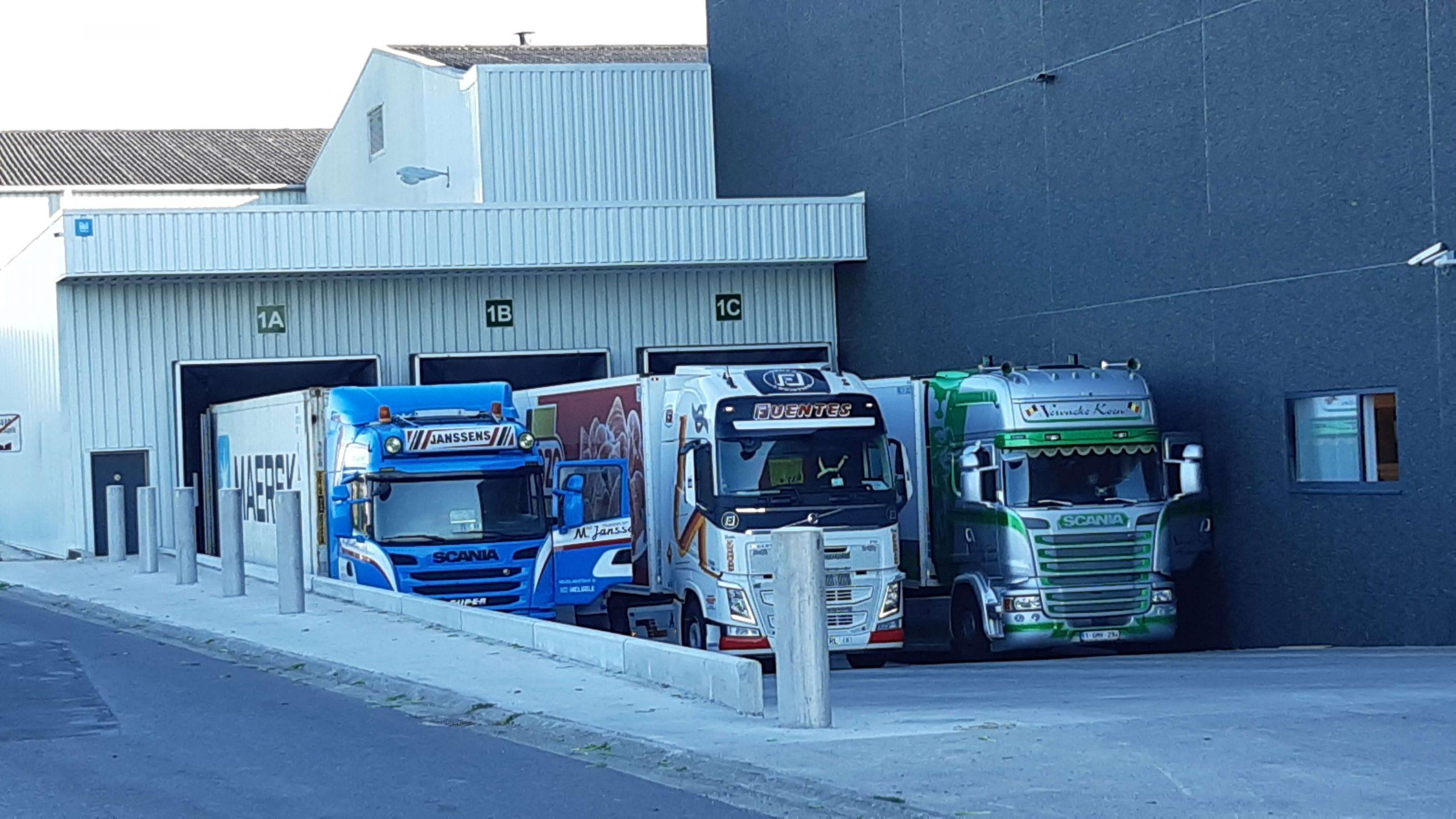 Loading dock at Flanders Best
